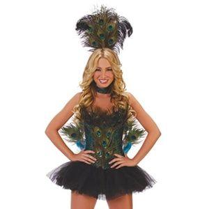 NEW Starline Sexy Peacock Halloween Costume